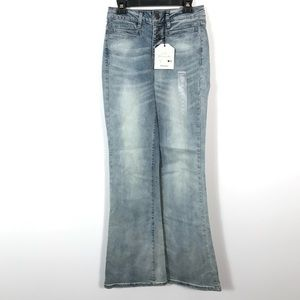 ❤️Bluenotes high rise flare jeans tall
